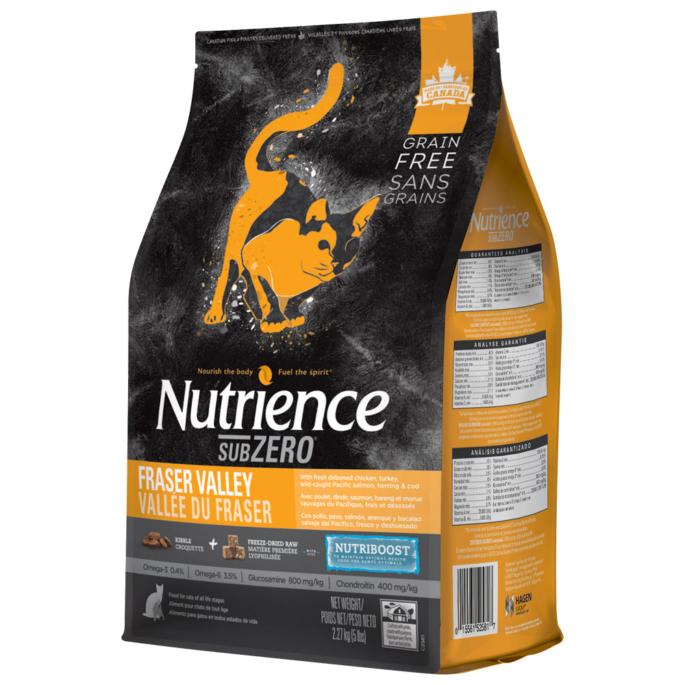 Nutrience Subzero Grain Free Fraser Valley – Cat