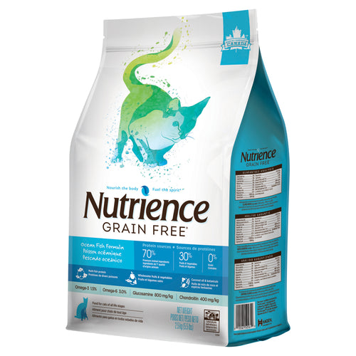 Nutrience Grain Free Ocean Fish - Cat