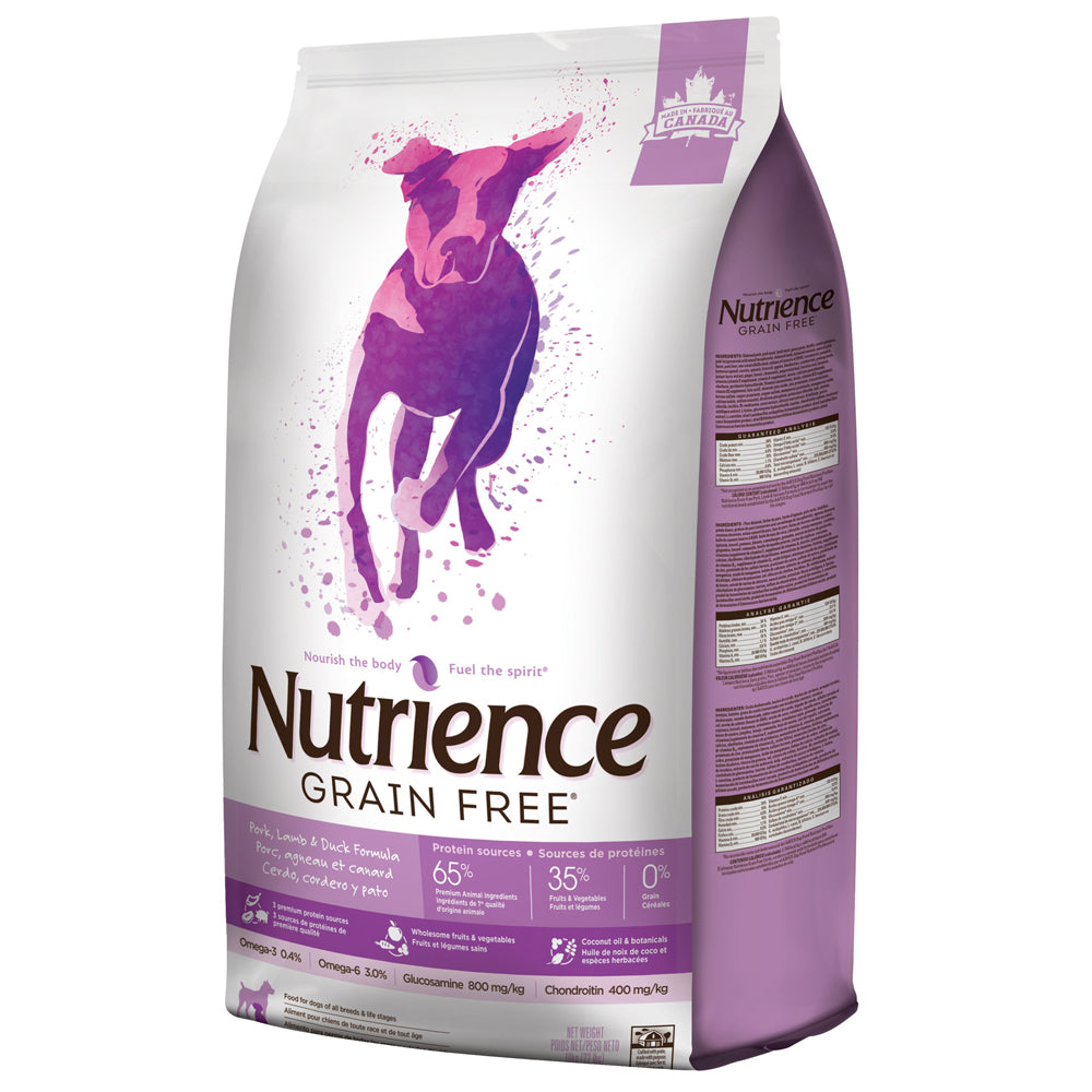 Nutrience Grain Free Pork, Lamb & Duck - Dog