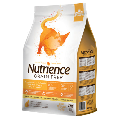 Nutrience Grain Free Turkey, Chicken & Herring - Cat