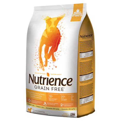 Nutrience Grain Free Turkey, Chicken & Herring - Dog