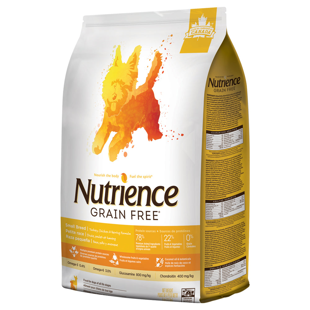 Nutrience Grain Free Turkey, Chicken & Herring Dog - Small Breed