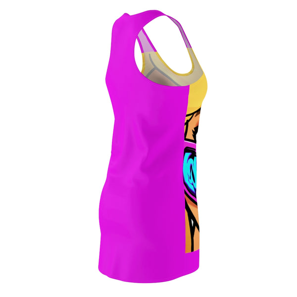 Divaz Stylez Clothing Designs  Racerback cartoon Dress