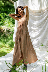 Sun Child Classic Dress - Vanilla Chai