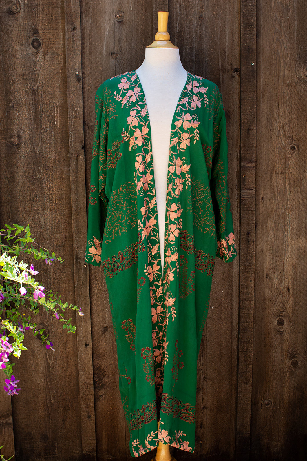 Long Jacket - Jade