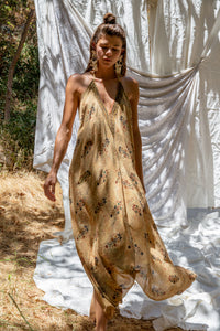 Sun Child Classic Dress - Golden Dust