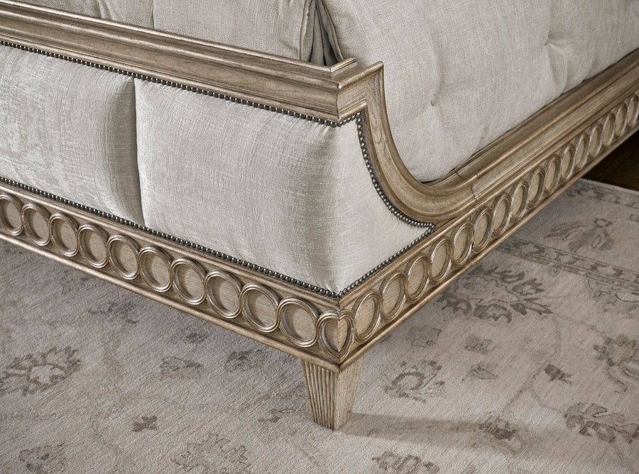 Arcadia Panel Bed Material