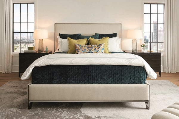 Caracole Simpatico Upholstery Contempo Bed