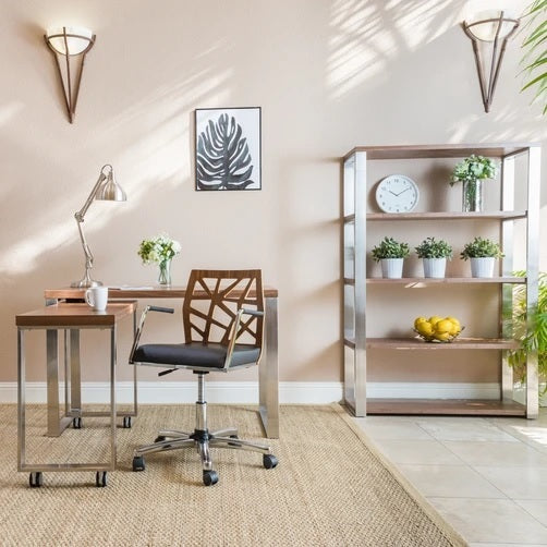 Euro Style Dillon 40-inch Shelving Unit
