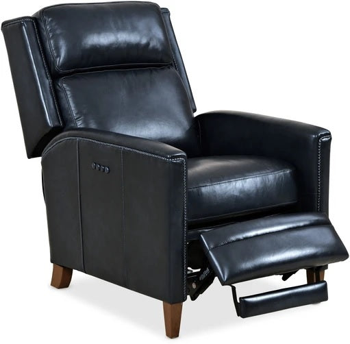 Hooker Furniture Living Room Shaw PWR Recliner with POWER Headrest