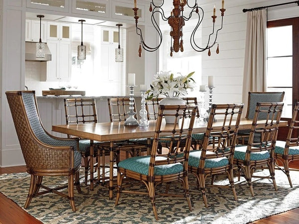 Tommy Bahama Home Twin Palms Caneel Bay Dining Table