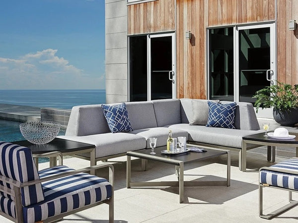 Tommy Bahama Outdoor Del Mar Rsf Sectional Chaise