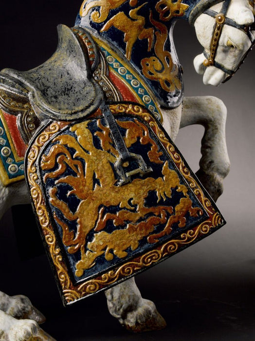 Lladro Oriental Horse Sculpture - Limited Edition