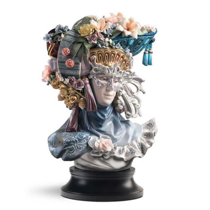 Lladro Venetian Fantasy woman Sculpture - Limited Edition