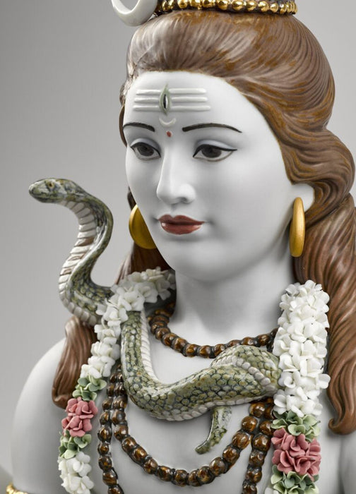 Lladro Lord Shiva Sculpture - Limited Edition