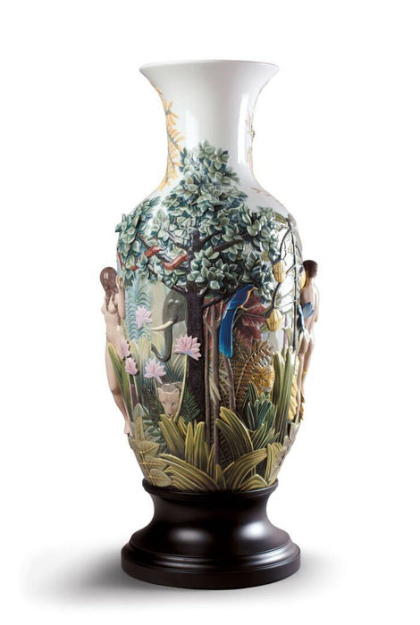 Lladro Paradise Vase Sculpture - Limited Edition