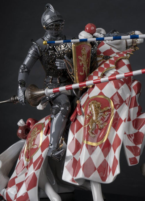 Lladro Medieval Tournament Sculpture - Limited Edition