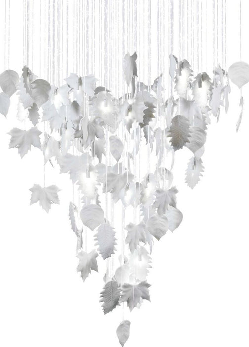 Lladro Magic Forest Chandelier - 1.10m (US) White