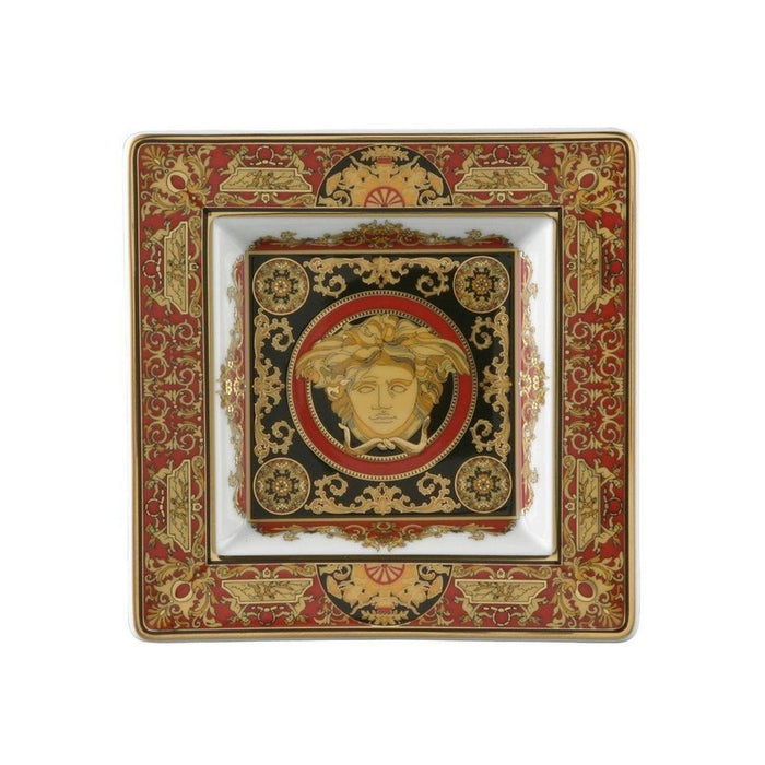 Versace Medusa Red - Tray 5 1/2""