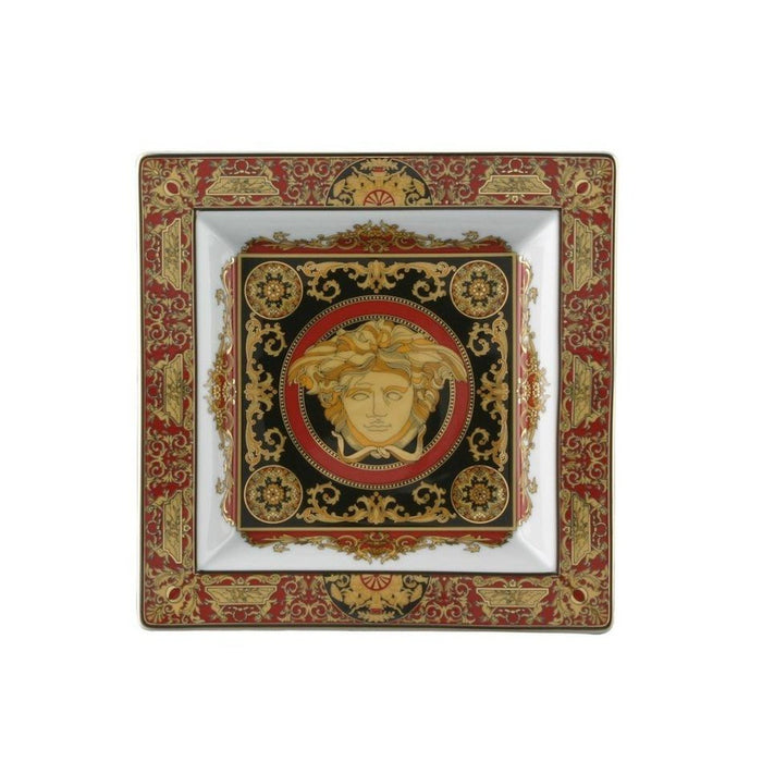 Versace Medusa Red - Tray 8 1/2""