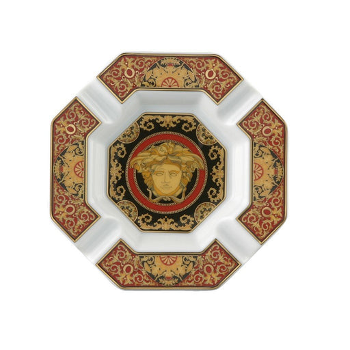 Versace Medusa Red - Ashtray, 5 1/2 inch
