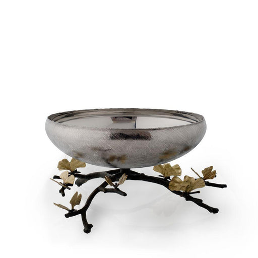 Michael Aram Butterfly Ginkgo Footed Centerpiece Bowl