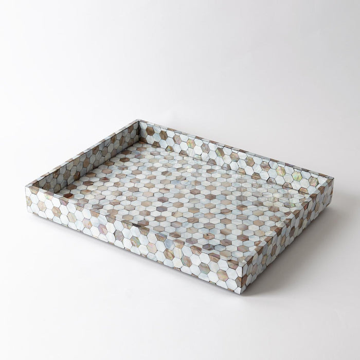 Global Views Mother of Pearl Tray