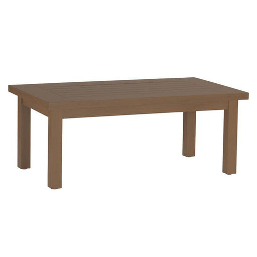 Summer Classics Club Aluminum Rectangular Coffee Table