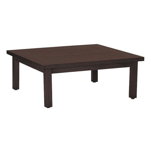 Summer Classics Club Aluminum Square Coffee Table