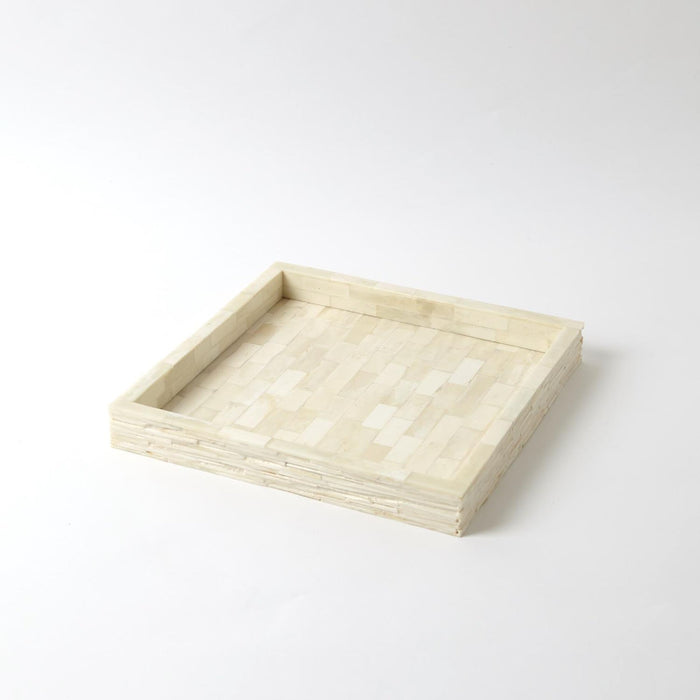 Global Views Chiseled Bone Tray