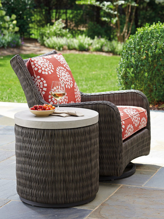 Tommy Bahama Outdoor Cypress Point Ocean Terrace Round End Table