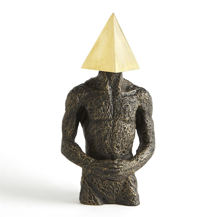 Global Views Pyramid Hero-Bronze