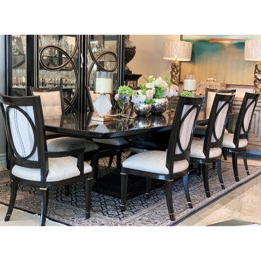 Marge Carson Samba Dining Set Floor Sample