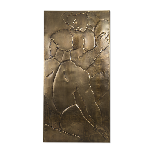 Christopher Guy Fraternel/Brass Wall Decor