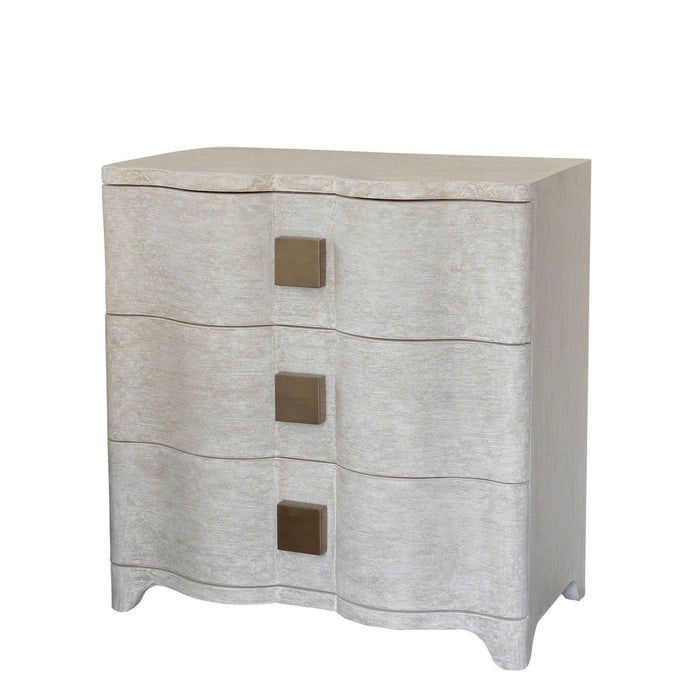 Global Views Toile Linen Bedside Chest