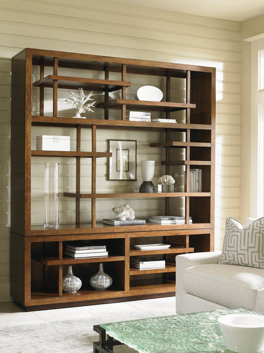 Tommy Bahama Home Island Fusion Taipei Media Bookcase