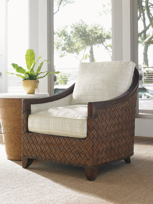 Tommy Bahama Home Island Fusion Kendari Round Accent Table