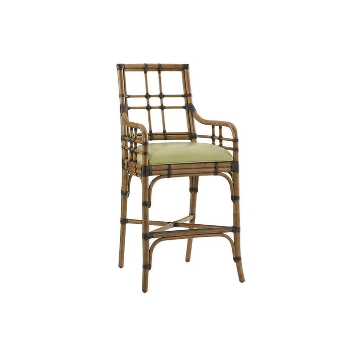 Tommy Bahama Home Twin Palms Lands End Bar Stool