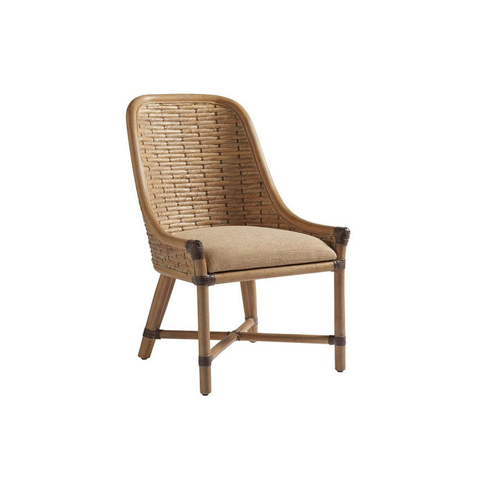 Tommy Bahama Home Los Altos Keeling Woven Side Chair