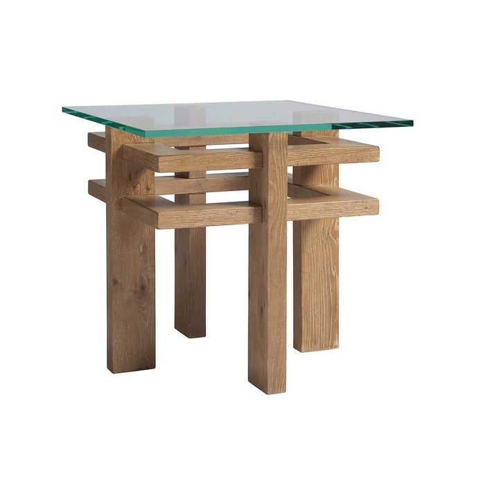 Tommy Bahama Home Los Altos Calcutta Square End Table