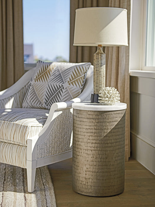 Tommy Bahama Home Ocean Breeze Turnberry Round Chairside Table