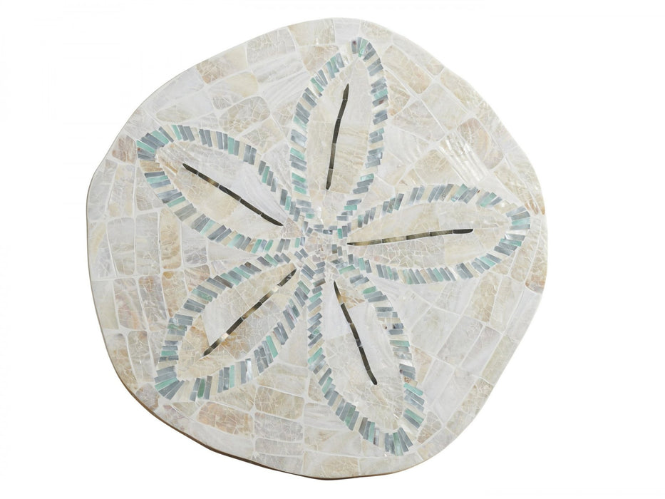 Tommy Bahama Home Ocean Breeze Sand Dollar End Table