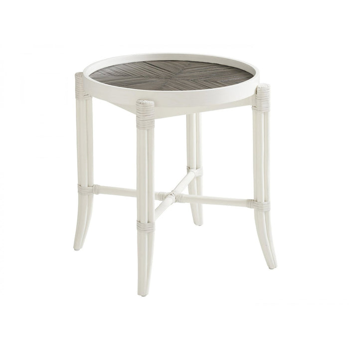 Tommy Bahama Home Ocean Breeze Neptune Round End Table