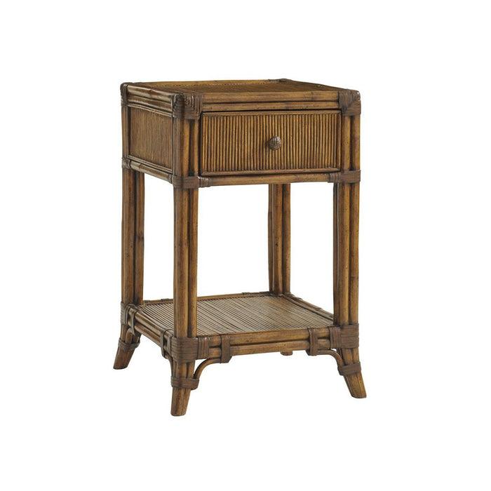Tommy Bahama Home Bali Hai Del Sol Bedside Table