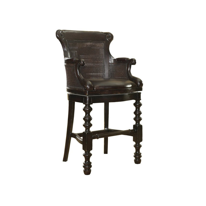 Tommy Bahama Home Kingstown Dunkirk Swivel Bar Stool