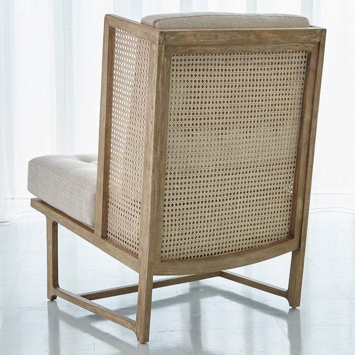Global Views Palm Desert Wing Chair