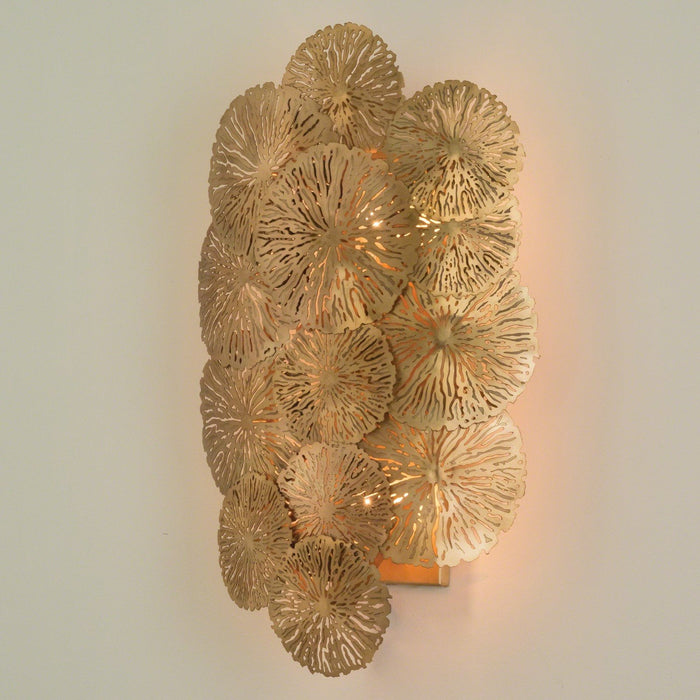 Global Views Lily Pad Wall Sconce