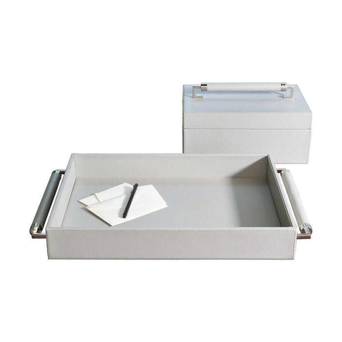 Global Views Double Handle Serving Tray