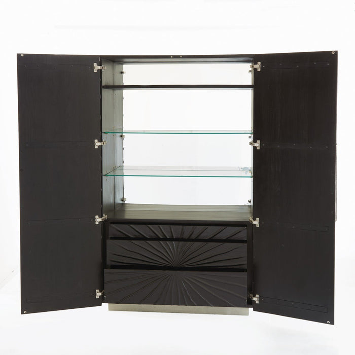 Global Views Pleated Cabinet Tall
