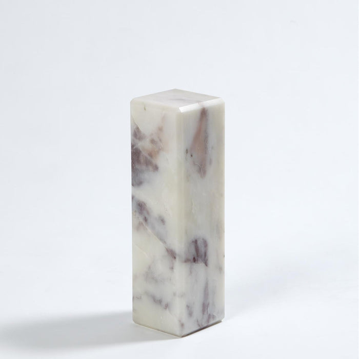 Global Views 3 Marble Mini Pedestal/Riser